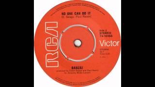 banzi  (gary glitter) - no one can do it