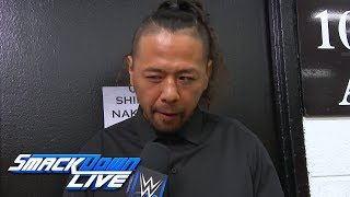 Shinsuke Nakamura says he and AJ Styles aren't finished: SmackDown LIVE, May 8, 2018