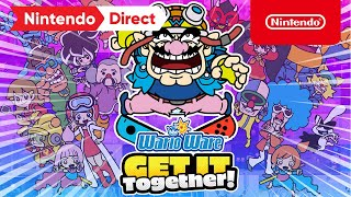 WarioWare: Get It Together! announced for Switch