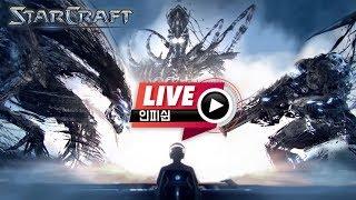 【 인피쉰 LIVE 】 ( 2019-01-06 일요일 생방송) 빨무 빠른무한 스타 팀플 스타크래프트