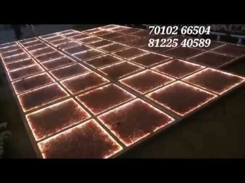 #LED Glass Floor Digital Wedding Marriage Reception Event Stage Decoration Chennai , Bangalore , Andhra +91 81225 40589