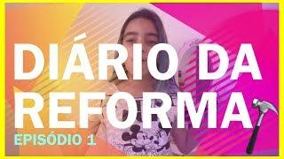 DIÁRIO DA REFORMA DO MEU QUARTO! #1 BELA ALMADA