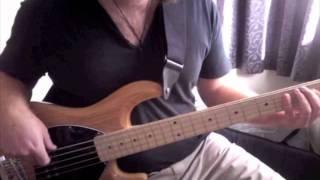 Jill Scott Golden - Funky Bass Cover