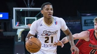 No. 1 Pick Anthony Brown Drops 38 Points in Erie BayHawks Debut