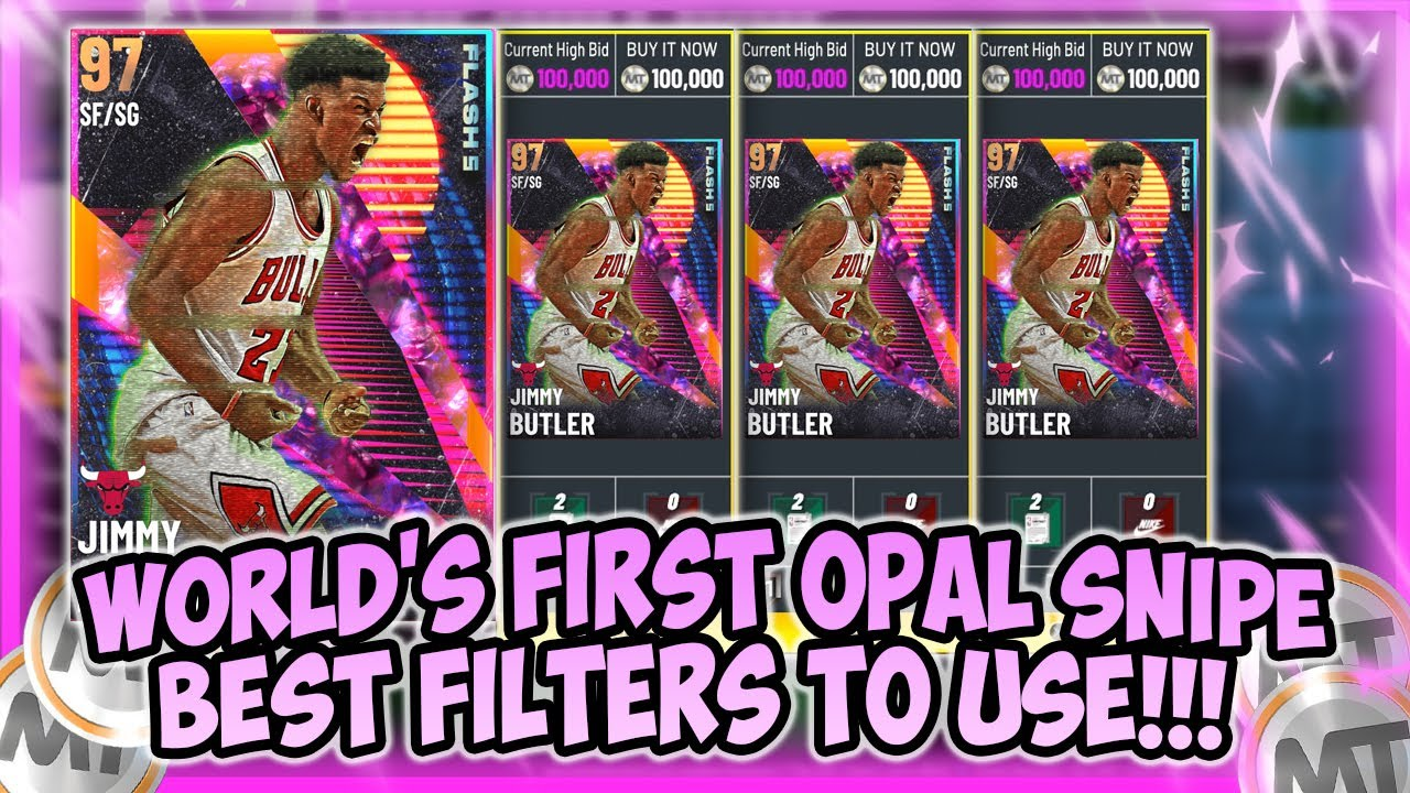 LogicLookss - NBA2K21 - FIRST GALAXY OPAL SNIPE!! WE MADE TONS OF MT!! BEST FILTERS TO USE FOR SEASON 4!!! MAKE MT