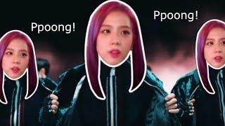 "BLACKPINK Jisoo ""Ppoong"" feat. Kpop songs"