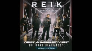 Reik Ft. Zion y Lennox - Que Gano Olvidandote ( Christian Rodriguez Dj Edit )