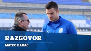 Mateo Barać: Uoči utakmice u Puli