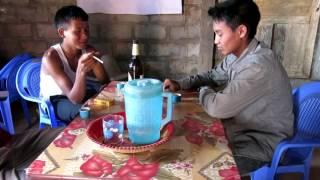 ລະຄອນຕິດຝິ່ນ ພາກທີ 1 (ພາສາອາຄ່າ-ເອີຊິ) Drama on Opium Addiction- part 1 (Akha Rshi language)