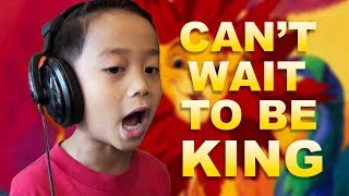 I just can't wait to be king (from Lion King) - Cover by Quinton