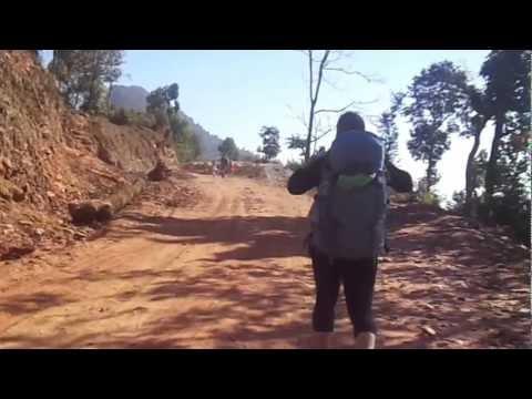 trekking to sharnkot