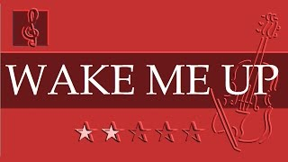 Violin & Guitar Duet - Wake Me Up - Avicii (Sheet music - Guitar chords)