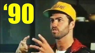 George Michael's Childhood Memories (Interview 1990) Rare Video