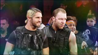 Dean Ambrose And Seth Rollins Theme song mashup