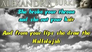 Hallelujah karaoke instrumental