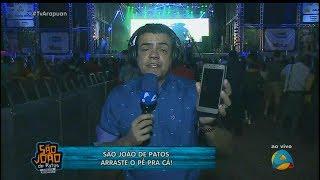 HD | Final do flash ao vivo do São João de Patos/PB na TV Arapuan - 21/06/2017