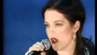 Lisa Marie Presley sing Dirty Laudry - Live