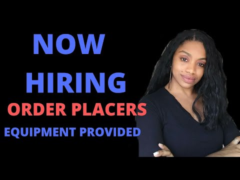 Order Placer Jobs From Home Jobs Ecityworks