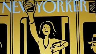 "The New Yorker ""On the Go"" AR cover"