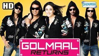 Golmaal Returns (HD) Hindi Full Movie in 15mins | Ajay Devgan | Kareena Kapoor | Tusshar Kapoor width=