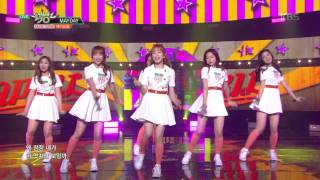 뮤직뱅크 Music Bank - MAYDAY - 에이프릴 (MAYDAY - APRIL).20170623