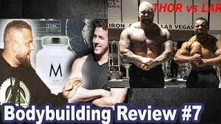 Larry Wheels Strongman, Science -  Beef respektlos! Bodybuilding Review #7