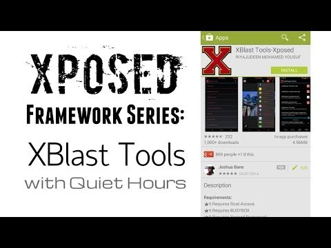Xblast tools xposed module overview youtube.