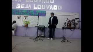 Eduardo Martins cantando o escudo - voz da verdade (ferrolho)