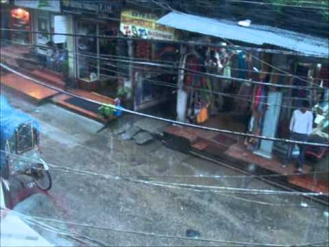 Kathmandu in monsoon