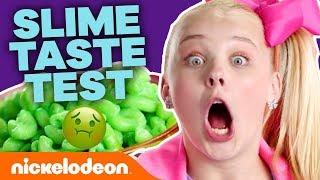 Slime Foods Taste Test w/ Jace Norman, JoJo Siwa & More! 🤢   #NickStarsIRL