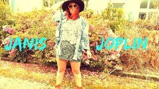 Janis Joplin 60s Inspired LookBook | Janis: Litttle Girl Blue