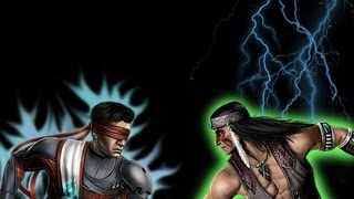 SpG - Mortal Kombat Tournament Round 1 Fight 2 - Kenshi vs Nightwolf