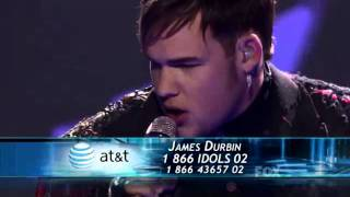 """James Durbin sings """"Uprising"""" by Muse on American Idol"""