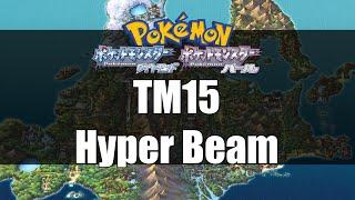 Pokemon Diamond & Pearl - Where to get TM15 Hyper Beam