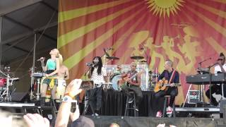 No Doubt - Simple Kind Of Life (Talks About Gavin)@ Nola Jazz Fest 5-1-2015