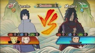 Naruto Shippuden: Ultimate Ninja Storm Revolution - Sasuke vs Madara