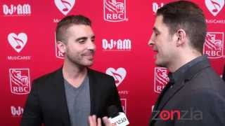 Nick Fradiani at the MusiCares MAP Fund Benefit Concert BTVRtv