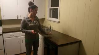 DIY torched wood countertop - FINISHED