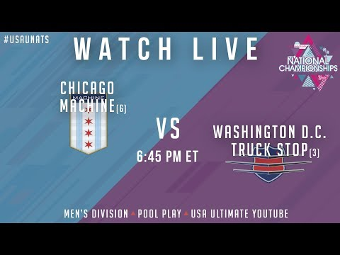 Video Thumbnail: 2019 National Championships, Men's Pool Play: Chicago Machine vs. Washington D.C. Truck Stop