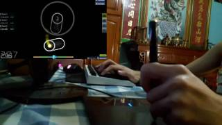 Osu! NightHawk22 - Corrosion [Extra (AR10)] 7* S rank 手元 live play by [ Zane ]