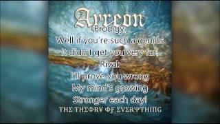 Ayreon-Collision, Lyrics and Liner Notes