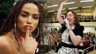 """URGENTE: Pastora Sarah Sheeva DETONA a Musica Vai Malandra de Anitta: """"Sou Princesa Não Malandra"""""""
