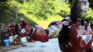 Iron Man Full Armour Motorized Sound Effects