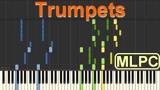 Sak Noel & Salvi feat. Sean Paul - Trumpets I Piano Tutorial by MLPC