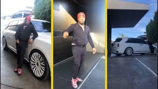 Yo Gotti Can Turn His Rolls Royce Truck Around Without Driving It!