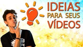 Como ser mais Criativo: Dicas de ideias para vídeo | Escola para youtubers