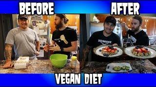 Friend Drops Cholesterol & 40LBS on Oil-Free Low Salt Diet - GF Waffle Recipe (VEGAN)