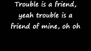 Lenka-Trouble Is A Friend(Lyrics) - YouTube.flv