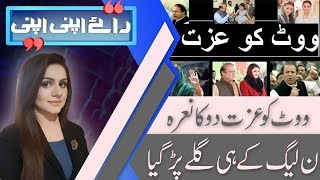Raey Apni Apni   Which party will make the government in Punjab and Balochistan?   28 July 2018  