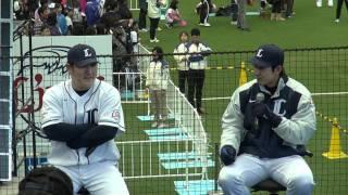 2011.11.23. LIONS THANKS FESTA 栗山・中村トークショー